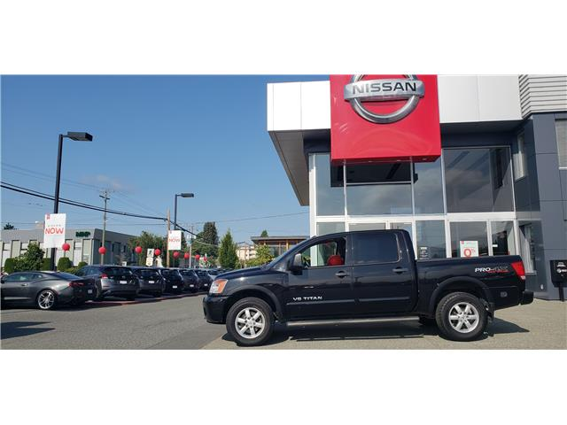 2012 Nissan Titan  (Stk: 8T1848A) in Duncan - Image 1 of 4