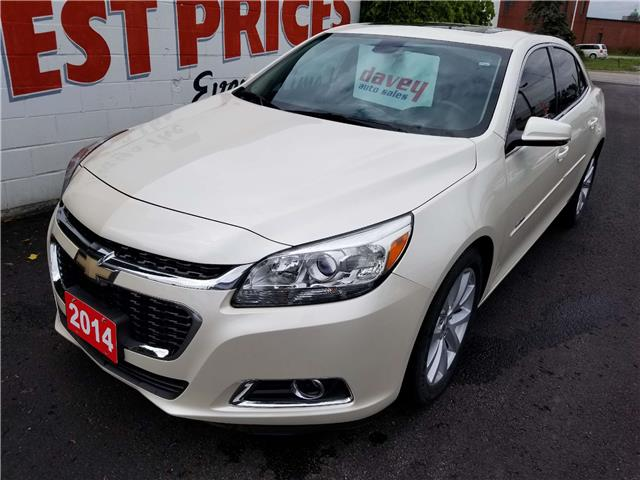 2014 Chevrolet Malibu 2LT (Stk: 19-519) in Oshawa - Image 1 of 17