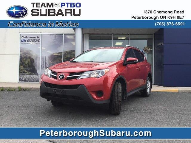 2015 Toyota RAV4 LE (Stk: S3972A) in Peterborough - Image 1 of 18