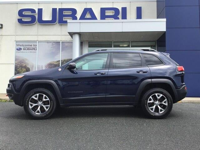 2015 Jeep Cherokee Trailhawk (Stk: S3946A) in Peterborough - Image 3 of 18
