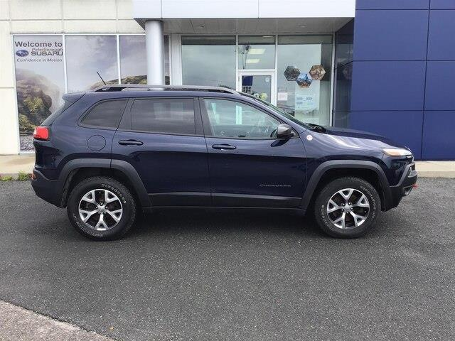 2015 Jeep Cherokee Trailhawk (Stk: S3946A) in Peterborough - Image 7 of 18