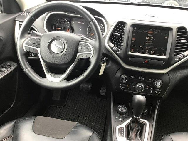 2015 Jeep Cherokee Trailhawk (Stk: S3946A) in Peterborough - Image 13 of 18