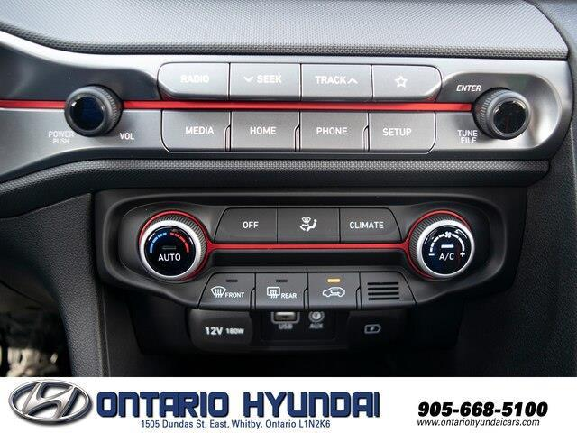 2020 Hyundai Veloster Turbo w/Two-Tone Paint (Stk: 023423) in Whitby - Image 4 of 20