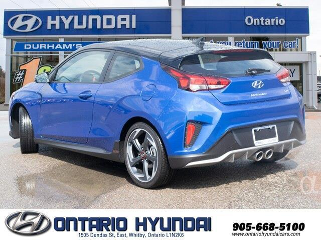 2020 Hyundai Veloster Turbo w/Two-Tone Paint (Stk: 023423) in Whitby - Image 6 of 20
