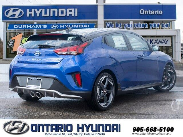 2020 Hyundai Veloster Turbo w/Two-Tone Paint (Stk: 023423) in Whitby - Image 7 of 20