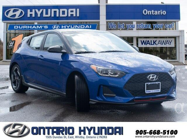 2020 Hyundai Veloster Turbo w/Two-Tone Paint (Stk: 023423) in Whitby - Image 8 of 20