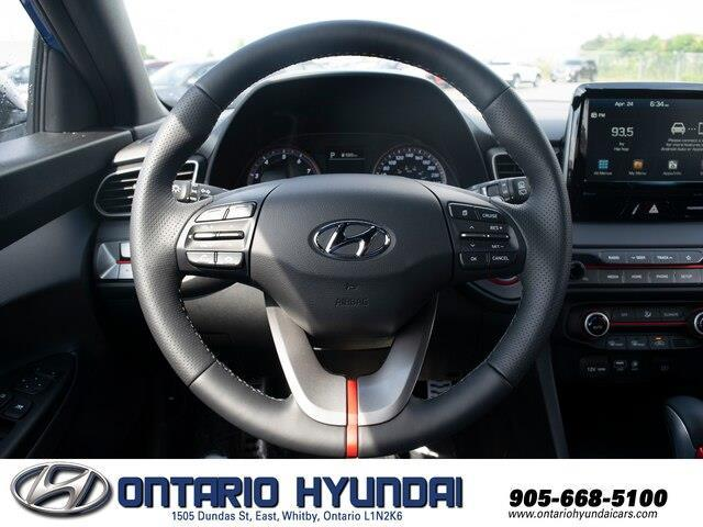 2020 Hyundai Veloster Turbo w/Two-Tone Paint (Stk: 023423) in Whitby - Image 10 of 20