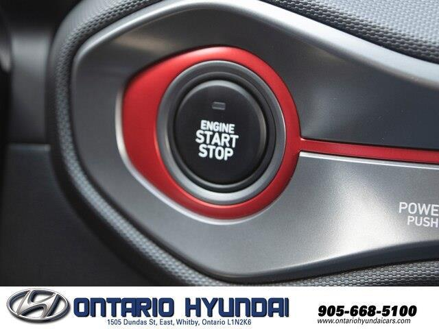 2020 Hyundai Veloster Turbo w/Two-Tone Paint (Stk: 023423) in Whitby - Image 11 of 20