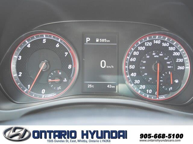 2020 Hyundai Veloster Turbo w/Two-Tone Paint (Stk: 023423) in Whitby - Image 12 of 20