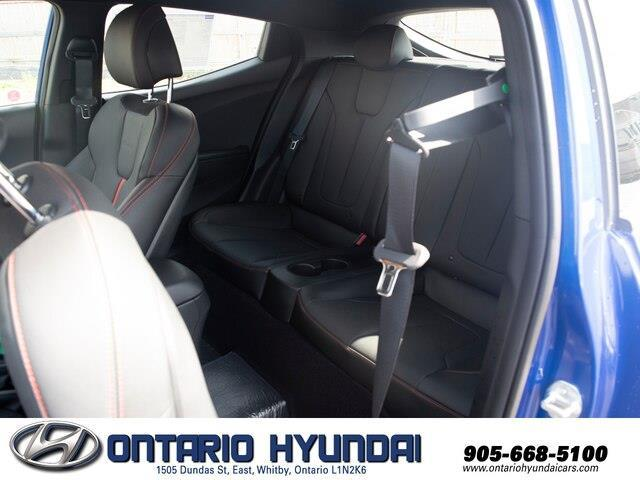 2020 Hyundai Veloster Turbo w/Two-Tone Paint (Stk: 023423) in Whitby - Image 14 of 20