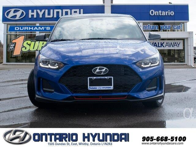2020 Hyundai Veloster Turbo w/Two-Tone Paint (Stk: 023423) in Whitby - Image 16 of 20