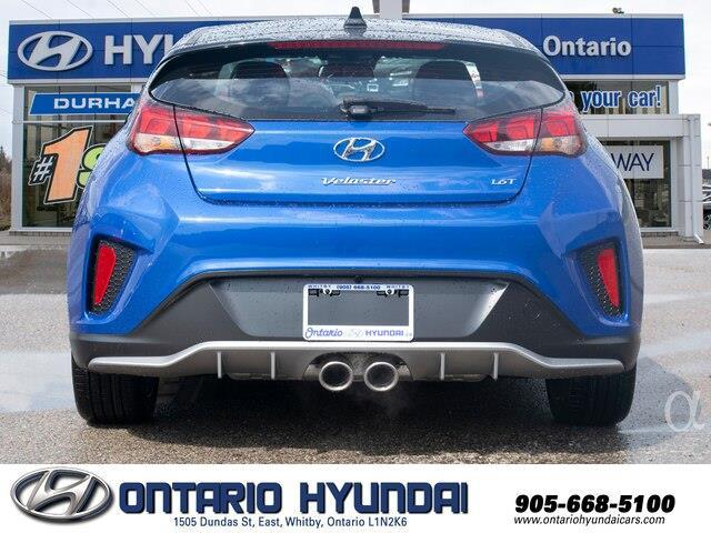 2020 Hyundai Veloster Turbo w/Two-Tone Paint (Stk: 023423) in Whitby - Image 17 of 20