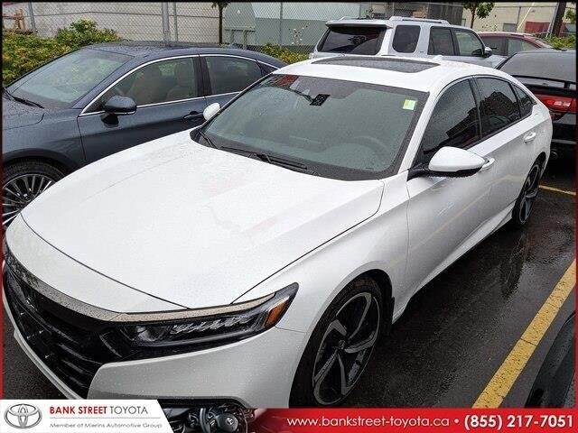 2018 Honda Accord Sport (Stk: 27484A) in Ottawa - Image 1 of 1