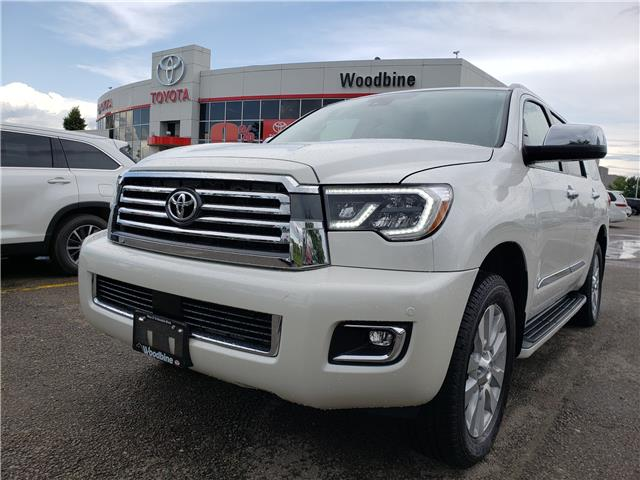 2018 Toyota Sequoia Platinum 5.7L V8 (Stk: 8-1087) in Etobicoke - Image 1 of 26