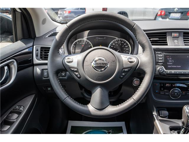 2018 Nissan Sentra 1.8 SV Midnight Edition (Stk: U6705) in Welland - Image 13 of 21
