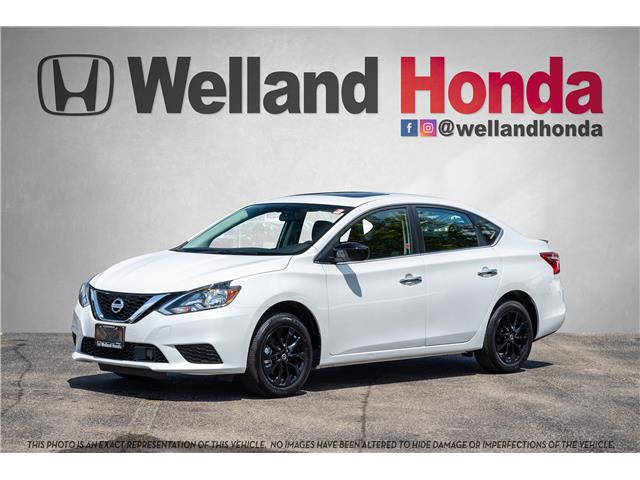 2018 Nissan Sentra 1.8 SV Midnight Edition (Stk: U6705) in Welland - Image 1 of 21