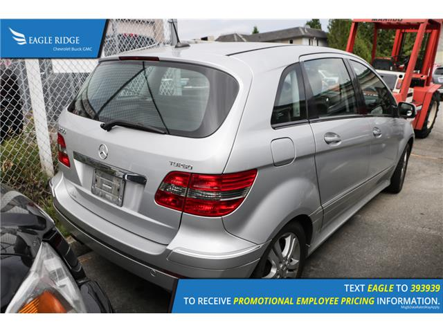 2007 Mercedes-Benz B-Class Turbo (Stk: 074532) in Coquitlam - Image 2 of 4