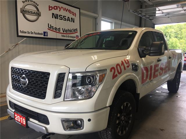 2019 Nissan Titan XD PRO-4X Diesel (Stk: 19042) in Owen Sound - Image 1 of 15