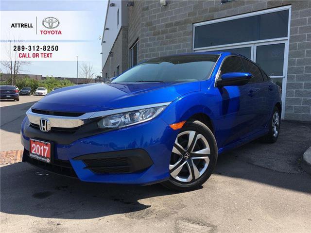 2017 Honda Civic Sedan LX BLUETOOTH, HEATED SEATS, BACK UP CAMERA, ABS, K (Stk: 44518A) in Brampton - Image 1 of 25