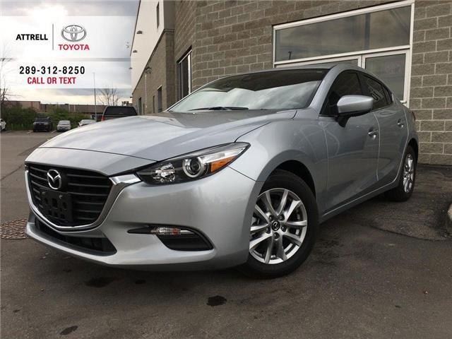 2018 Mazda Mazda3 GS SUNROOF, ALLOY, FOG, TINT, BACK CAM, PUSH BUTTO (Stk: 44215B) in Brampton - Image 1 of 26