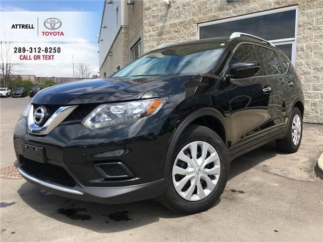 2016 Nissan Rogue S FWD BACK UP CAMERA, BLUETOOTH, ABS, ROOF RAILS,  (Stk: 44600A) in Brampton - Image 1 of 26