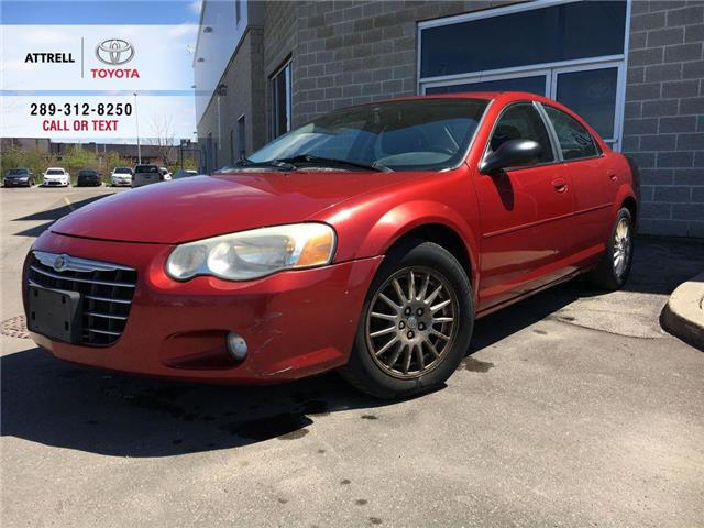 2006 Chrysler SEBRING SDN TOURING ALLOY WHEELS, FOG LAMPS, ABS, STEERING WHE (Stk: 44214A) in Brampton - Image 1 of 23