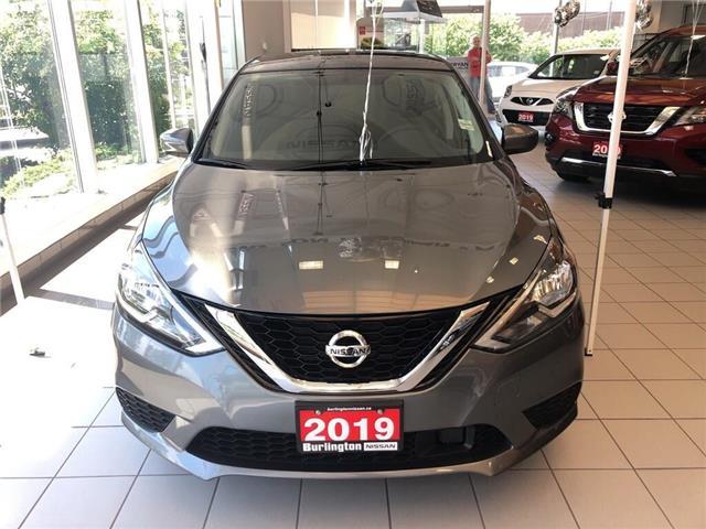 2019 Nissan Sentra 1.8 SV (Stk: Y6021) in Burlington - Image 2 of 5