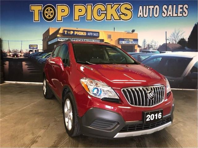 2016 Buick Encore Base (Stk: 719422) in NORTH BAY - Image 1 of 11