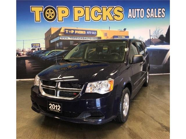 2012 Dodge Grand Caravan SE/SXT (Stk: 388725) in NORTH BAY - Image 1 of 12