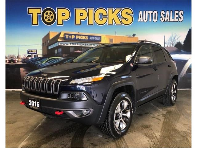2016 Jeep Cherokee Trailhawk (Stk: 343886) in NORTH BAY - Image 1 of 13