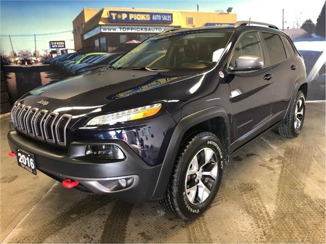 2016 Jeep Cherokee Trailhawk (Stk: 343886) in NORTH BAY - Image 2 of 13