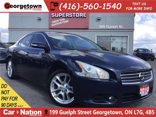 2010 Nissan Maxima LEATHER | CAMERA | DUAL SUNROOF | 3.5L V6 (Stk: P12392) in Georgetown - Image 1 of 30