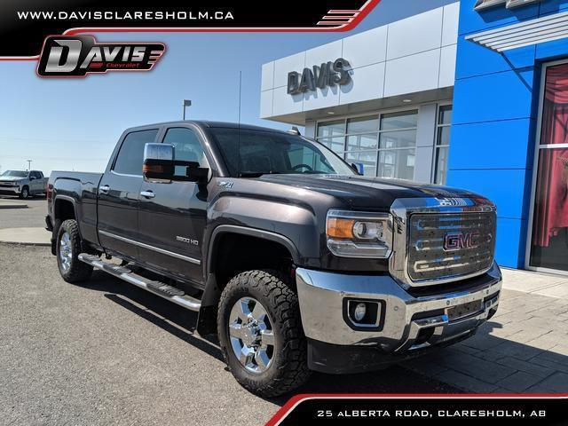 2015 GMC Sierra 3500HD SLT (Stk: 153233) in Claresholm - Image 1 of 25