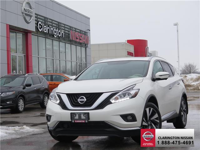 2017 Nissan Murano Platinum (Stk: HN120148) in Bowmanville - Image 1 of 30