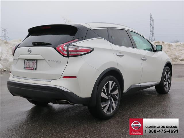 2017 Nissan Murano Platinum (Stk: HN120148) in Bowmanville - Image 5 of 30