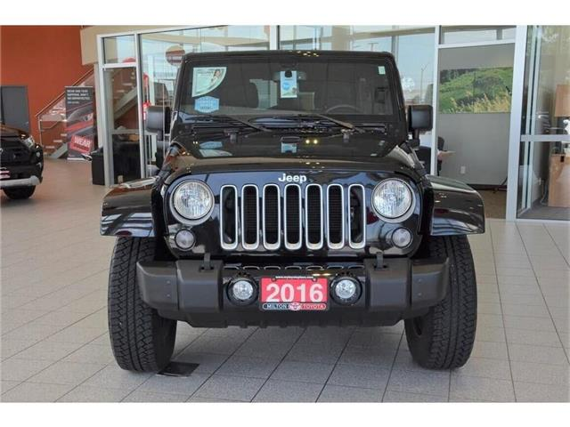 2016 Jeep Wrangler Unlimited Sahara (Stk: 225561) in Milton - Image 2 of 35