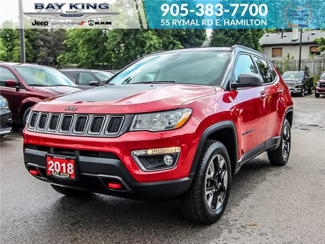 2018 Jeep Compass Trailhawk (Stk: 6900R) in Hamilton - Image 1 of 25
