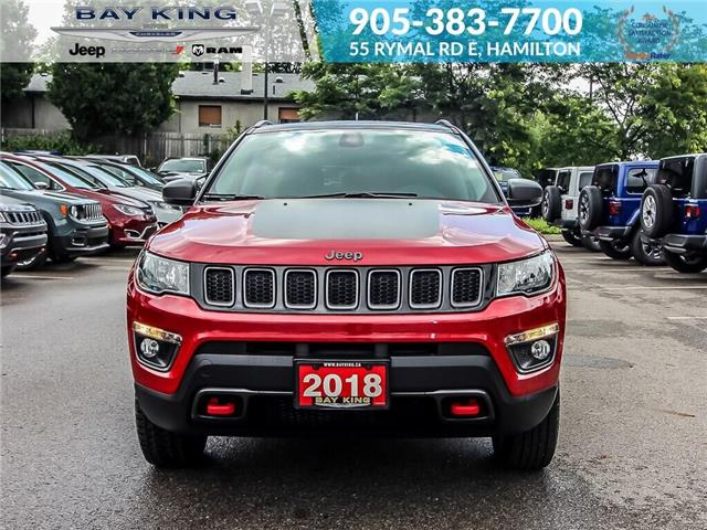 2018 Jeep Compass Trailhawk (Stk: 6900R) in Hamilton - Image 2 of 25