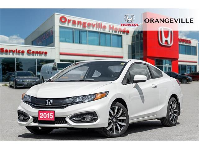2015 Honda Civic EX-L Navi (Stk: U3205) in Orangeville - Image 1 of 22