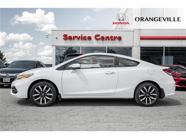 2015 Honda Civic EX-L Navi (Stk: U3205) in Orangeville - Image 3 of 22