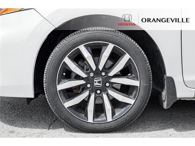 2015 Honda Civic EX-L Navi (Stk: U3205) in Orangeville - Image 4 of 22