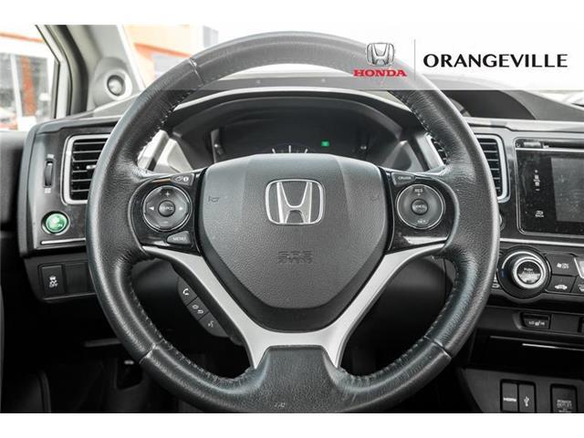 2015 Honda Civic EX-L Navi (Stk: U3205) in Orangeville - Image 9 of 22