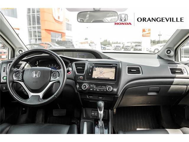 2015 Honda Civic EX-L Navi (Stk: U3205) in Orangeville - Image 21 of 22