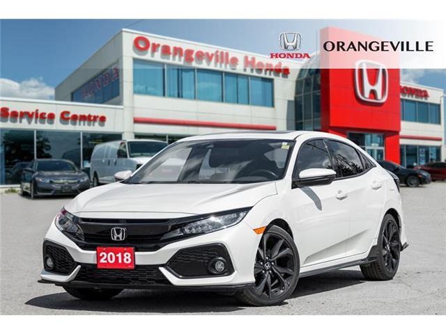 2018 Honda Civic Sport Touring (Stk: V19319A) in Orangeville - Image 1 of 21