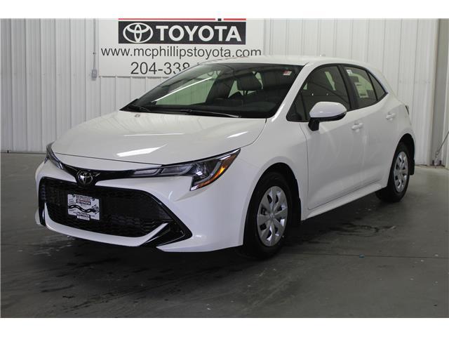 2019 Toyota Corolla Hatchback Base (Stk: 3065989) in Winnipeg - Image 1 of 26