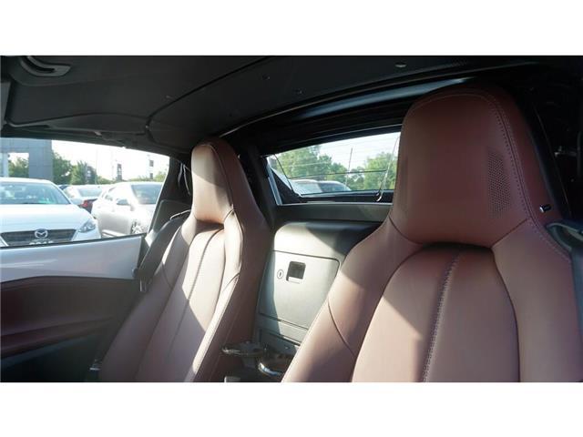 2018 Mazda MX-5 RF GT   LEATHER   CONVERTIBLE   NAVI   BBS RIMS (Stk: HN1600/1) in Hamilton - Image 18 of 30