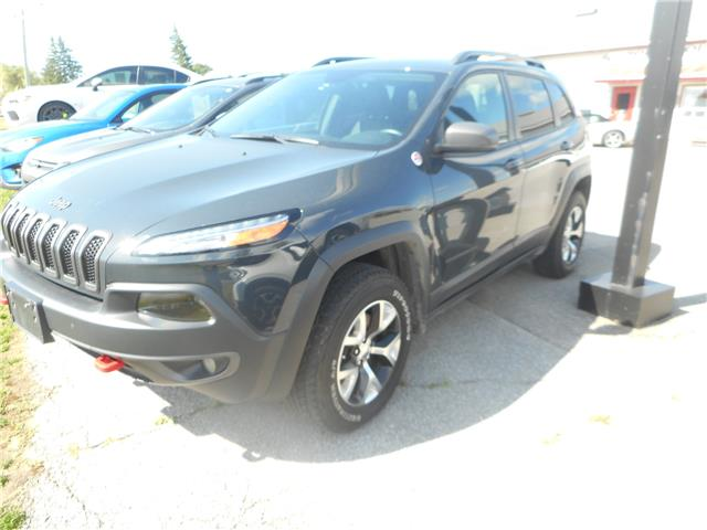 2017 Jeep Cherokee Trailhawk (Stk: NC 3790) in Cameron - Image 1 of 16