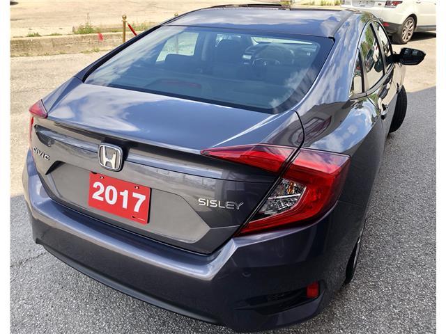 2017 Honda Civic LX (Stk: 011163) in Toronto - Image 5 of 13