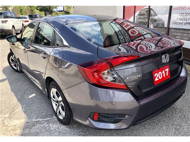 2017 Honda Civic LX (Stk: 011163) in Toronto - Image 6 of 13