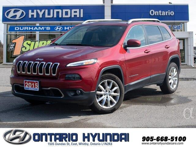 2015 Jeep Cherokee Limited (Stk: 50394K) in Whitby - Image 1 of 22
